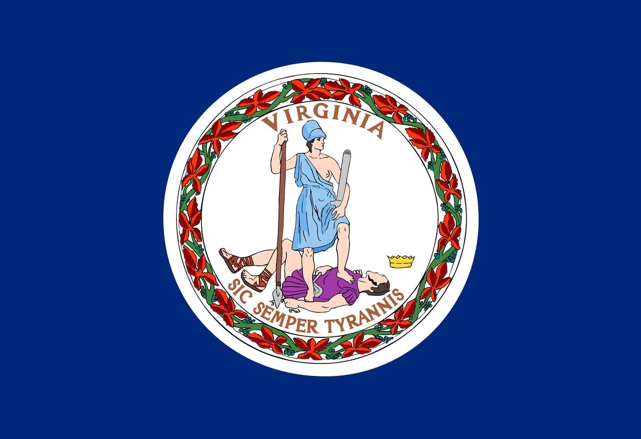 Флаг Виргиния