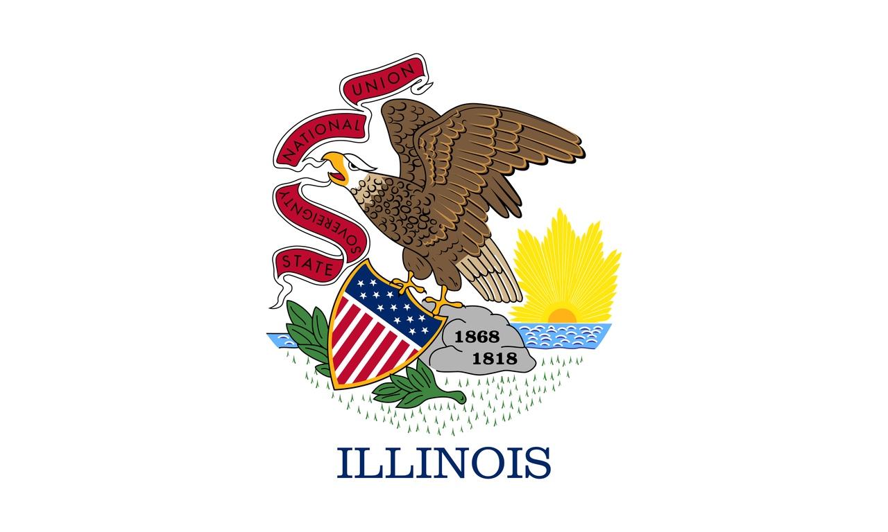 Флаг Иллинойс