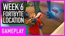 Fortnite: Week 6 Secret Fortbyte Puzzle Piece Location Guide | Season 9 Utopia Challenges