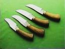 Доисторические ножи от Алексея Федотова. 90-е годы.