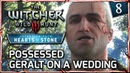 Witcher 3: HEARTS OF STONE ► Possessed Geralt on a Wedding with Shani (Hilarious) 8