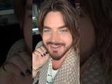 Adam Lambert's LIVE INSTAGRAM MAY 8, NEW ALBUM TITLE ANNOUNCED #VELVET