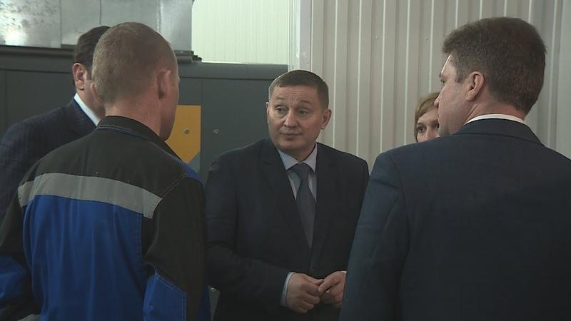 Губернатор Андрей Бочаров проинспектировал реализацию приоритетных проектов в Камышине