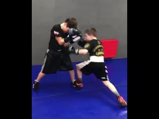 🎬Талантливые дети в боксе. Работа над защитой🥊