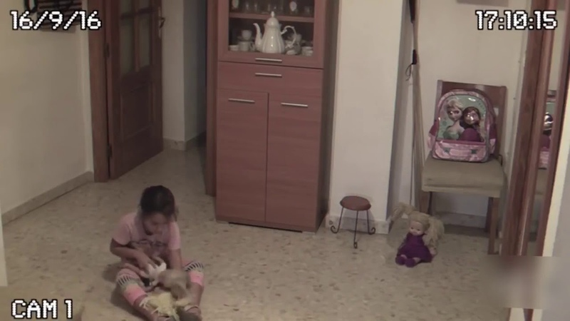 Очень страшное видео Реальный полтергейст в квартире Москва