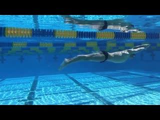 Gianluca urlando underwater kick
