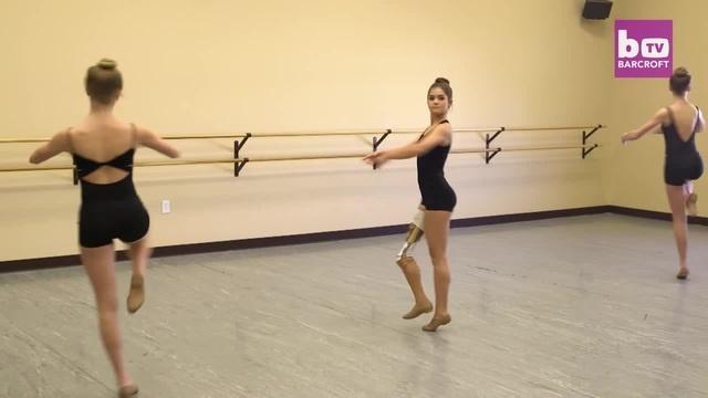 Прима-балерина по жизни | Teenage ballerina Gabi Shull dances again
