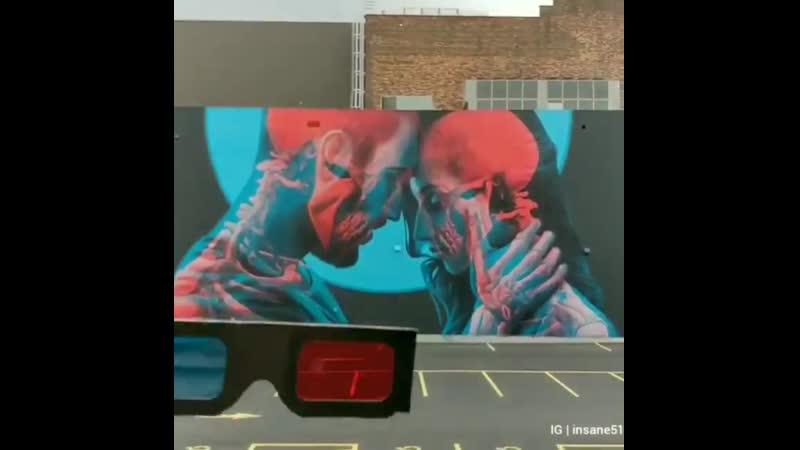Double exposure 3D Art. Art by Insane51