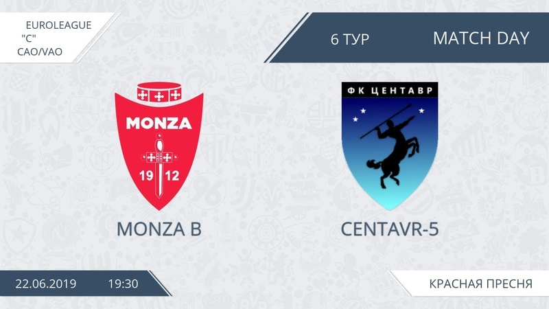 AFL19. Euroleague. C. Day 6. Monza B - Centavr 5