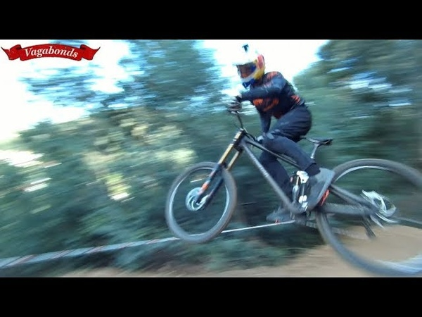 RAW Downhill Lousa 2019 nationals training 2020 rd1 World Cup track