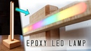 Transforming Wireless Epoxy LED Lamp Sconce 3 LAMPS IN 1 DIY Woodworking