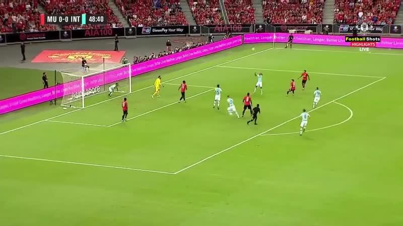 Манчестер Юнайтед - Интер 1-0 - Обзор Матча