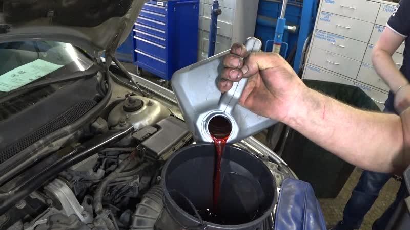 Выставляем уровень масла Volvo S60
