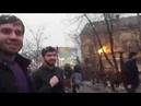 Нападение на активистов. Площадь Рогожской Заставы. Рейд по незаконной парковке памятник В.И. Ленина