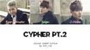BTS 방탄소년단 Cypher Pt 2 Triptych Colour Coded Lyrics Han Rom Eng
