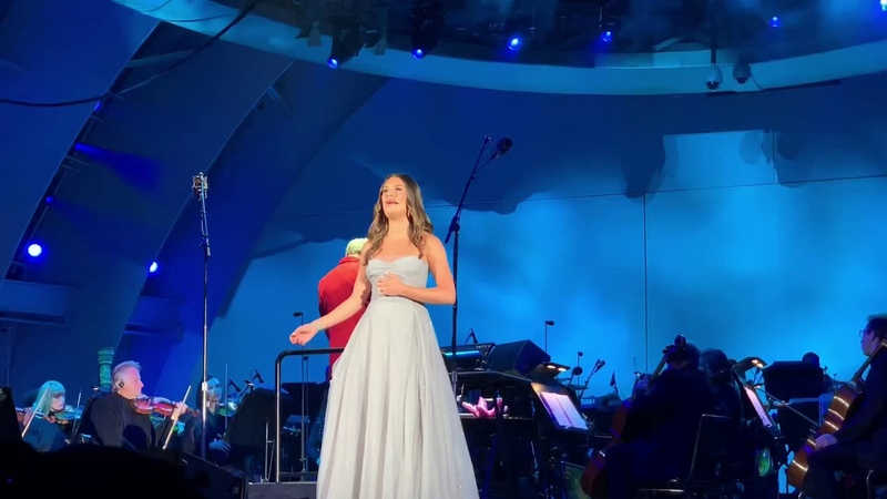 """Lea Michele Part Of Your World"""" Night 2 of The Little Mermaid at Hollywood Bowl 5 18 19"""
