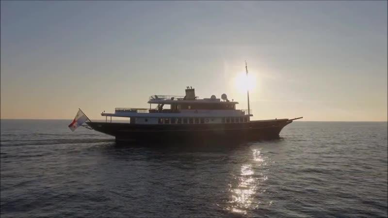 Luxury yacht Timeless