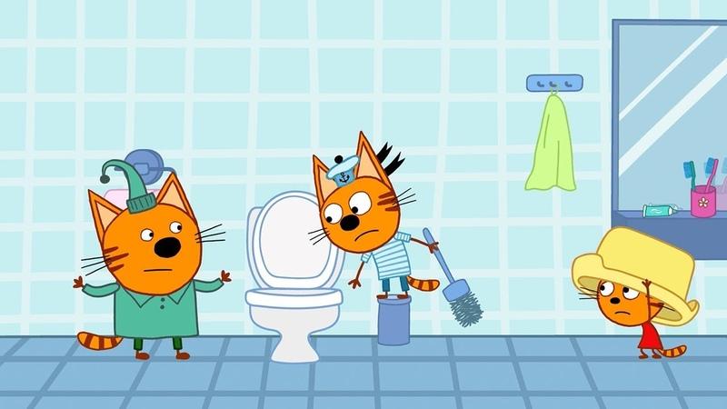 Три кота - Микробы - 101 серия