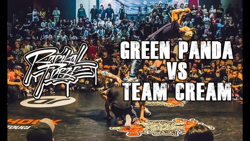 RADIKAL FORZE JAM 2019 | TOP 8 BBOY 4vs4 | GREEN PANDA vs TEAM CREAM