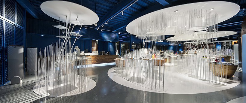 The 751 fashion buyer shop in Beijing is conceived in an old factory by CUN design
