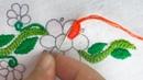 Latest designs hand embroidery for dress easy hand stitch tutorial herringbone stitch