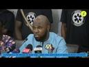 Kemi Seba conférence de presse à Cotonou Bénin après son expulsion de Côte d'Ivoire