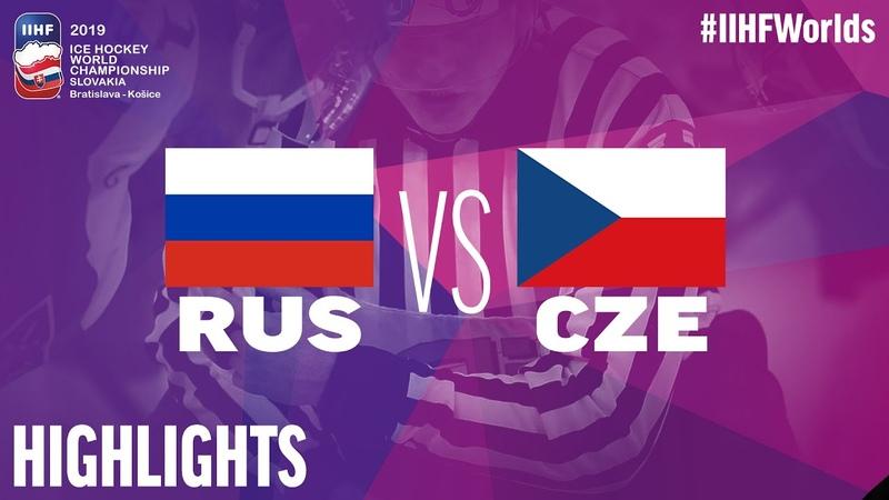 Russia vs. Czech Republic - Bronze Medal Game - Game Highlights - IIHFWorlds 2019