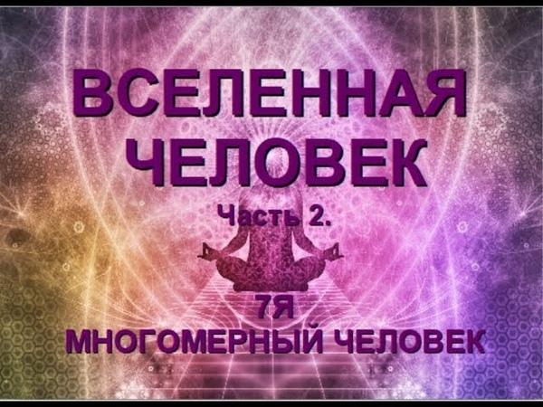 Ч 2 ВСЕЛЕННАЯ ЧЕЛОВЕК 7 Я МНОГОМЕРНОСТЬ ЧЕЛОВЕКА Александра Барвицкая Женьшеневая Женщина