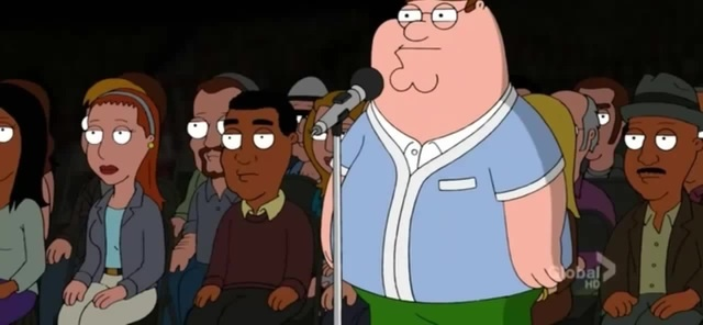 Family Guy - Peter Sings Eye Of The Tiger