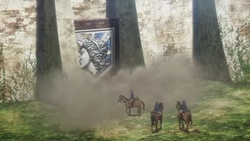 Attak on titan Атака титанов 3 сезон 21 серия 1080p Anilibria