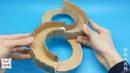 Как сделать Magic 88 Track Toys из картона Поделки из бумаги поделки Easy Origami Tutorial
