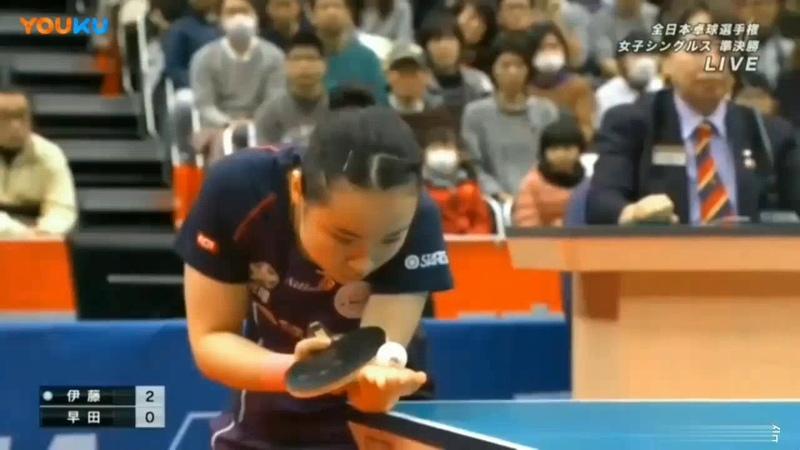 SF | Mima Ito vs Hina Hayata | Japan National Championships 2019