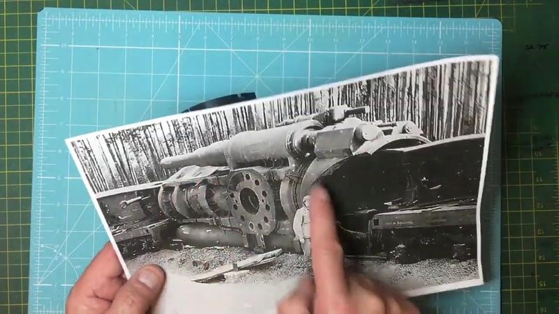 Soar Art 1/35 Dora Railway Gun Breech Mods part 3