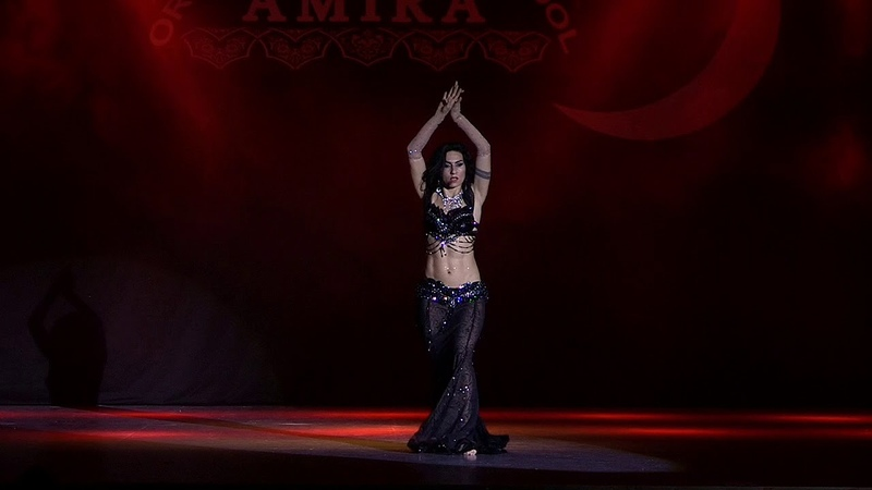 Hot belly dance by Amira Abdi - baladi nostalgia 2018