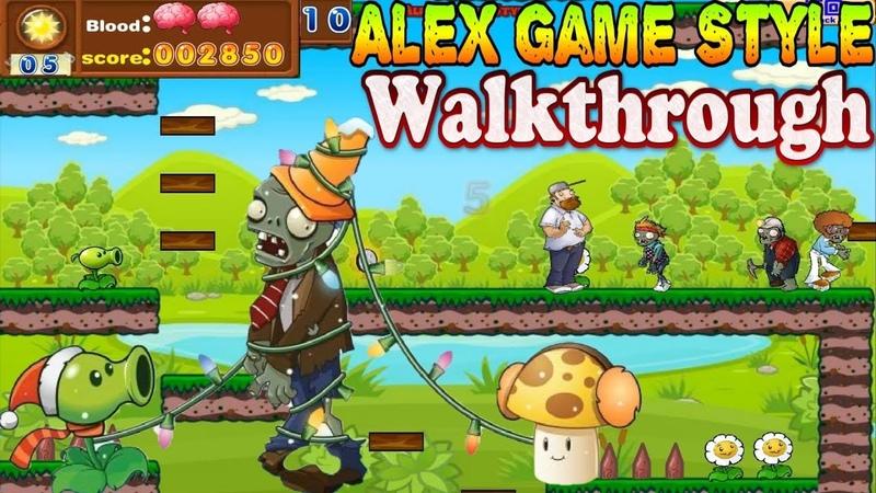 Crazy Dave Plants Adventure Complete Walkthrough 1080p 60fps Zombie games