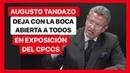 AUGUSTO TANDAZO DEJA CON LA BOCA ABIERTA EN EXPOSICIÓN CONSTITUCIONAL DEL CPCCS SIN CORBATA