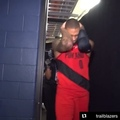 House of Highlights on Instagram Dames reaction after winning Game 7 + him celebrating with his mom on Mothers Day.