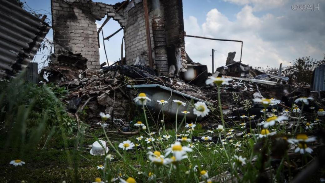 Прямое попадание в крышу: в Зайцево обстрелом зацепило жилой дом