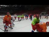 Раскатка олимпийской сборной перед St. Petersburg Hockey Open