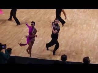 Giacomo lazzarini & roberta benedetti: finland open, 2018 / samba