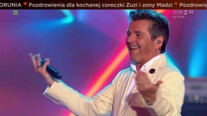 Thomas Anders Modern Talking Band Cheri Cheri Lady TVP2 Lato Muzyka Zabawa Wakacyjna Trasa Dwójki 21 07 2019
