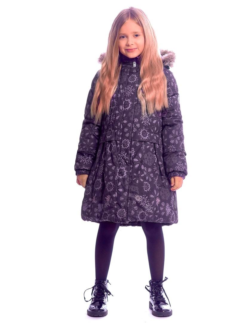 WP91353 PURPLE Пальто зимнее