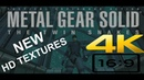 MGS Twin Snakes full game NEW upscaled HD textures 4K60fps 169 Part 1 of 2 no commentary