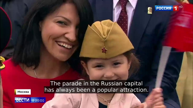 Victory Day Parade Shows Off Top Military Hardware and Rekindled Pride of the Russian Nation