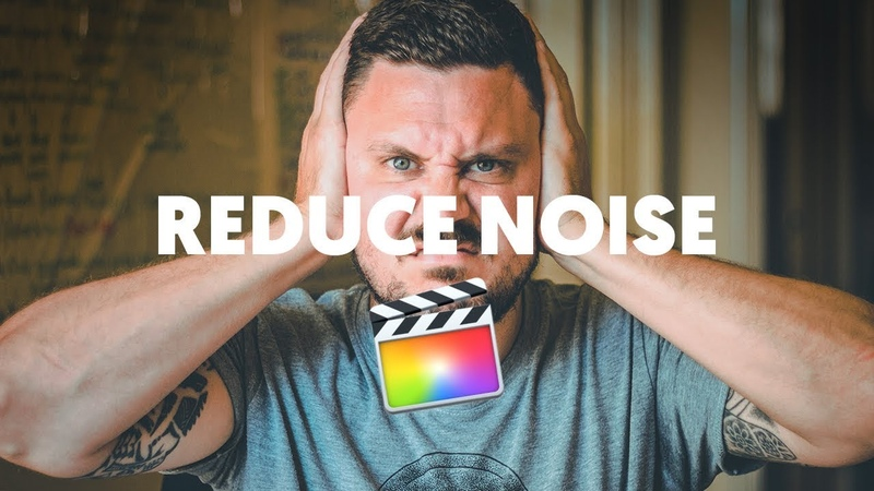 Remove white noise, hiss, static or background noise in Final Cut Pro