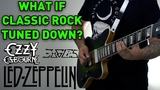 What If Classic Rock Tuned Down (ACDC, Kansas, Ozzy Osbourne &amp More)