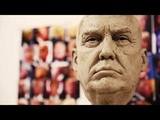 Sculpting the Donald Trump Wax Figure HD - The National Presidential Wax Museum