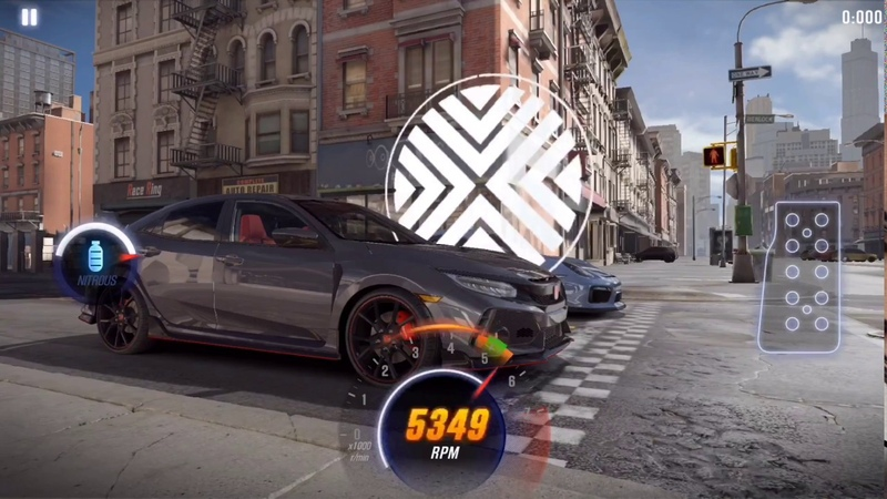 CSR2 Civic Type R shift tune for 9 038