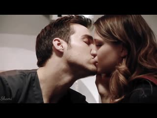 Kara  mon el - kiss me (supergirl) chris wood  melissa benoist
