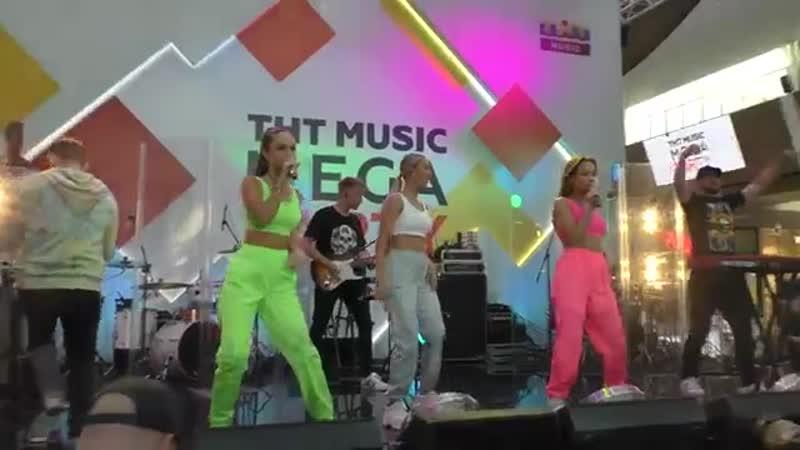 Serebro - Между нами любовь и другие песни (ТНТ Music Mega Party 16 06 2019)